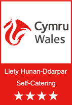 Self Catering in Wales Logo - Four star