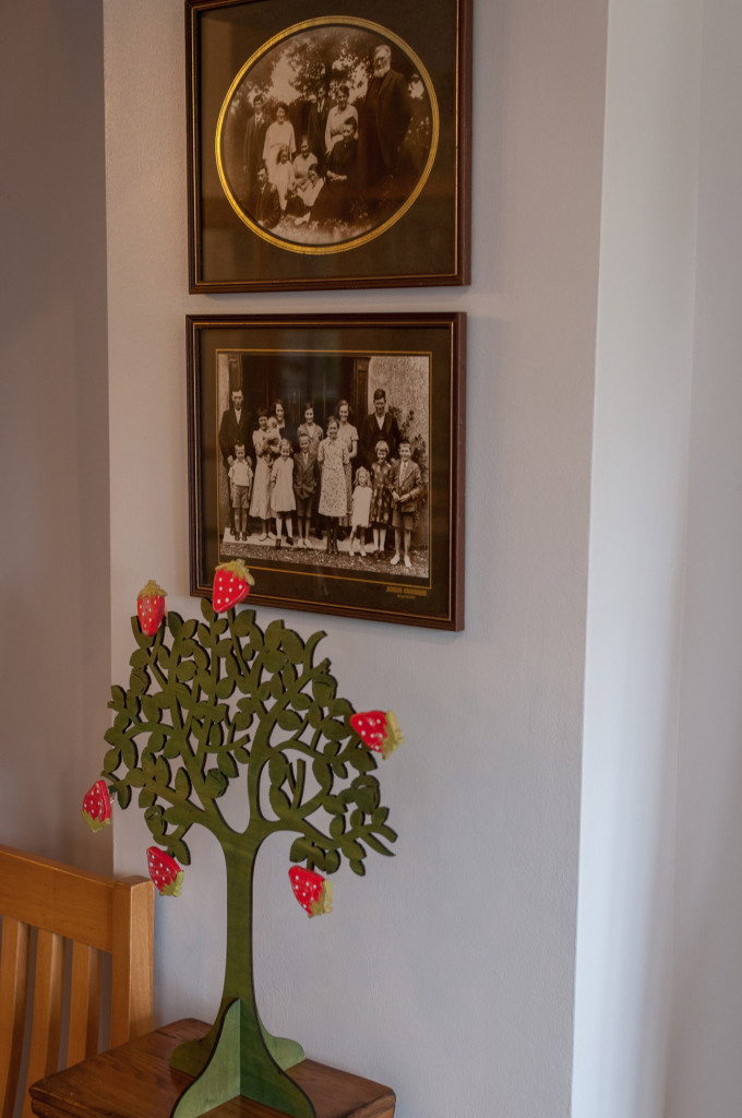 Family-photos-in-the-guest-dining-room.