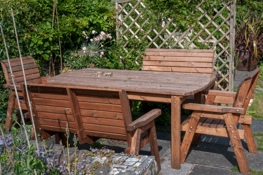 We-bought-this-sturdy-garden-furniture-at-Llanfair-show-last-year.